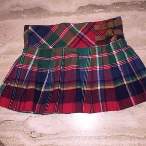 Ralph Lauren Brushed Cotton Pleated Skirt- Size 6